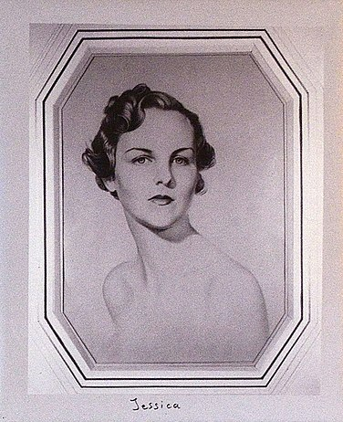Jessica Mitford, by William Acton