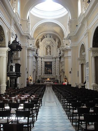 Church of the Jesuits, Valletta - Interior of the church
