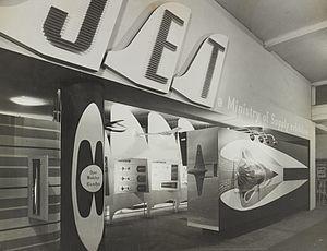 Robin Day (designer) - Jet exhibition, 1946
