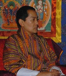 Jigme Singye Wangchuck King of Bhutan