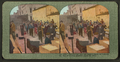 Jim Forrest and his supply camp on Laguna St., San Francisco disaster, April 18, 1906, from Robert N. Dennis collection of stereoscopic views.png