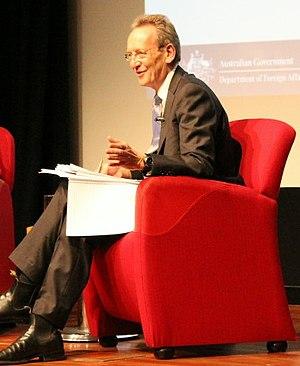 Jim Middleton (journalist) - Jim Middleton hosting an event in July 2014.