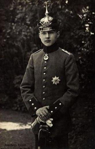 Joachim Ernst, Duke of Anhalt - Image: Joachim Ernst last duke of Anhalt