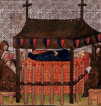 Joan I of Navarre - Funeral of Queen Joan I