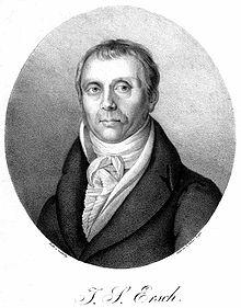 Johann Samuel Ersch (Quelle: Wikimedia)