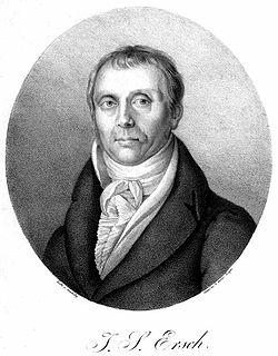 Johann Samuel Ersch German bibliographer