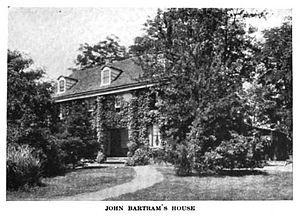 John Bartram - House of John Bartram located in Philadelphia, Pennsylvania, c. 1919