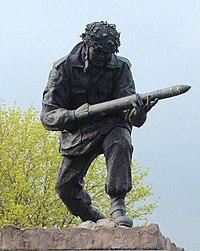 John Baskeyfield VC statue close.jpg