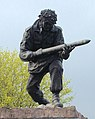 John Baskeyfield VC statue close.jpg