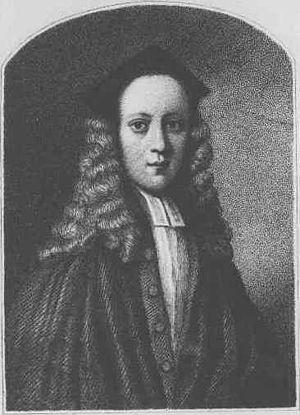 John Byrom - Portrait of Byrom as a young man