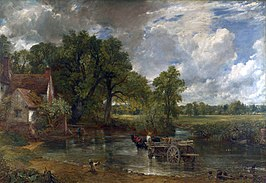 Willy Lott's Cottage in The Hay Wain van Constable