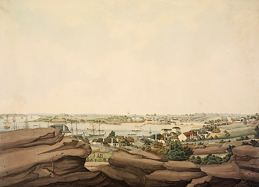 John Eyre East View of Sydney