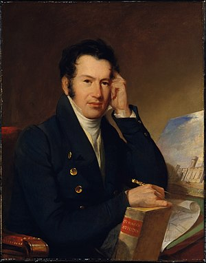 John Haviland - Portrait of Haviland by John Neagle, 1828