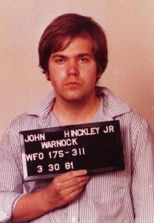 John Hinckley Jr. - FBI mug shot of Hinckley in 1981