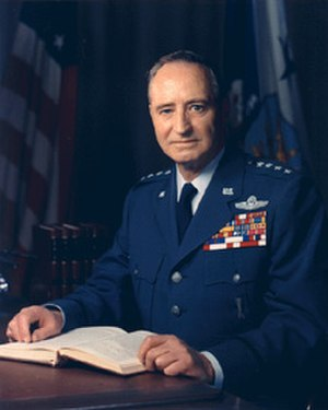 Johnson-McConnell agreement of 1966 - General John P. McConnell, USAF Chief of Staff