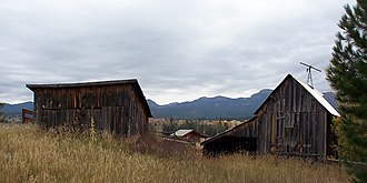 National Register of Historic Places listings in Valley County, Idaho - Image: John S. Johnson (Sampila) Homestead