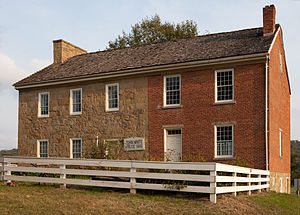 Chartiers Township, Washington County, Pennsylvania - The John White House, a historic site in the township