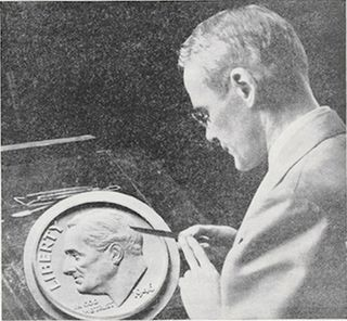 John R. Sinnock United States mint engraver