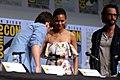Jonathan Nolan, Thandie Newton & Rodrigo Santoro (36183562356).jpg