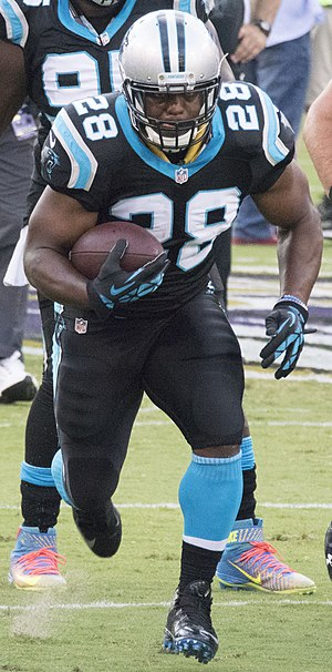 Jonathan Stewart - Stewart with the Panthers in 2016