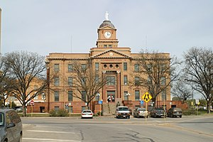Anson, Texas - Jones County Courthouse, Anson, Texas