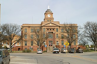 Anson, Texas - Jones County Courthouse