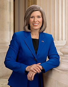 Joni Ernst, official portrait, 116th Congress 2.jpg