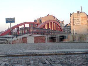 Śródka, Poznań - Image: Jordan Bridge Poznan