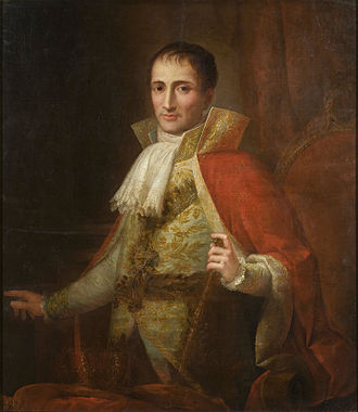 Line of succession to the French throne (Bonapartist) - Image: Josée Flaugier Portrait of King Joseph I (ca. 1809) Google Art Project