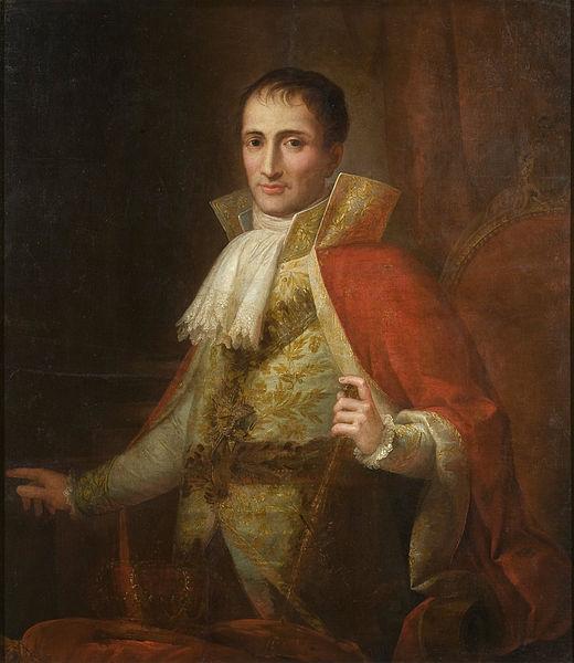 Retrato del rey José I, por Joseph Flaugier.