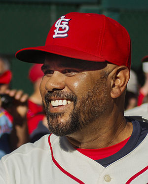 José Oquendo - Oquendo with the St. Louis Cardinals