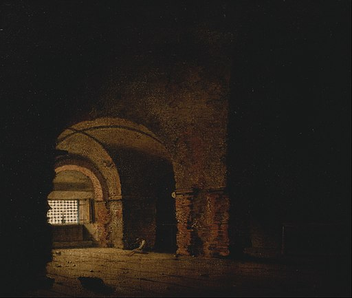 Joseph Wright of Derby - The Prisoner - Google Art Project