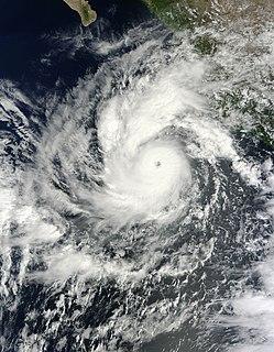 Hurricane Jova (2011) Category 3 Pacific hurricane in 2011