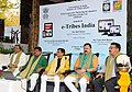 Jual Oram, the Ministers of State for Tribal Affairs, Shri Sudarshan Bhagat and Shri Jaswantsinh Sumanbhai Bhabhor and other dignitaries at the launch of 'Tribes India' e-commerce portal.jpg