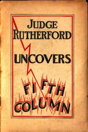 """Joseph Franklin Rutherford - A 1940 Rutherford booklet """"exposing"""" a Catholic campaign of mob violence against Jehovah's Witnesses"""