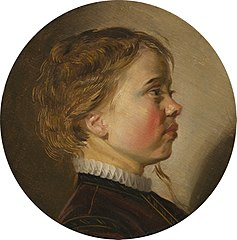 Head of a boy in profile