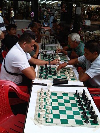 Jugadores de Ajedrez en Sabana Grande