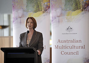Melbourne Law School - Julia Gillard
