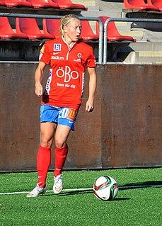 Julia Spetsmark football player from Sweden