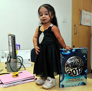 Jyoti Amge Notable for being the worlds smallest living female