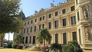 Royal Andalusian School of Equestrian Art - Facade of the Palacio Duque de Abrantes