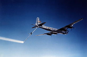 2nd Air Refueling Squadron - KB-29P with the flying boom extended