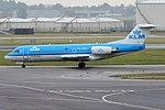 KLM Cityhopper, PH-WXD, Fokker F70 (28444019826).jpg