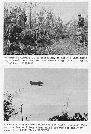 2nd Battalion, 3rd Marines - Marines from 2/3 in Vietnam during the Battle of Khe Sanh