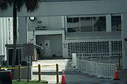 KSC Operations and Checkout Building - Astrovan exit area