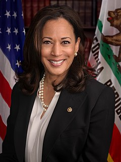 Kamala Harris Vice President–elect of the United States; United States Senator