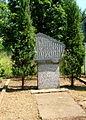 Kamienna Góra, obelisk przy ul. Nadrzecznej - d. filia KL Gross Rosen - AL Landeshut.JPG
