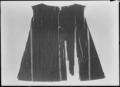 Kappa av svart mönstrad sammet, ca 1611-1632 - Livrustkammaren - 53342.tif