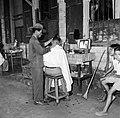 Kapper in de Jodenbreestraat in Paramaribo, Bestanddeelnr 252-4955.jpg