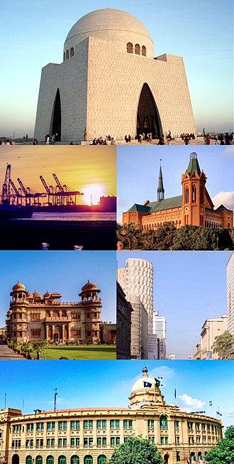Karachi - Image: Karachimontage